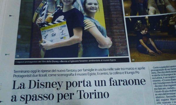 BERNI E IL GIOVANE FARAONE -FILM -DISNEY-BACKSTAGE 10
