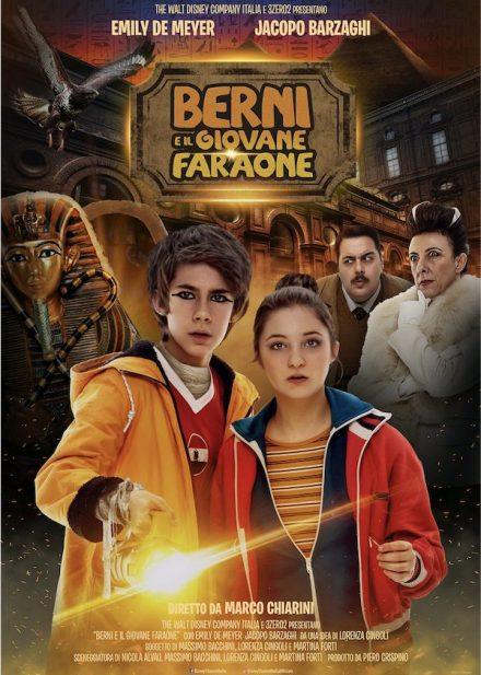 BERNI E IL GIOVANE FARAONE -FILM -LOCANDINA FILM-OMNIBUSTUDIO