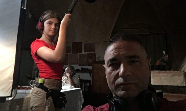 CACCIAGUIDA-CORTOMETRAGGIO -LATERAL FILM-BACKSTAGE-OMNIBUSTUDIO-6