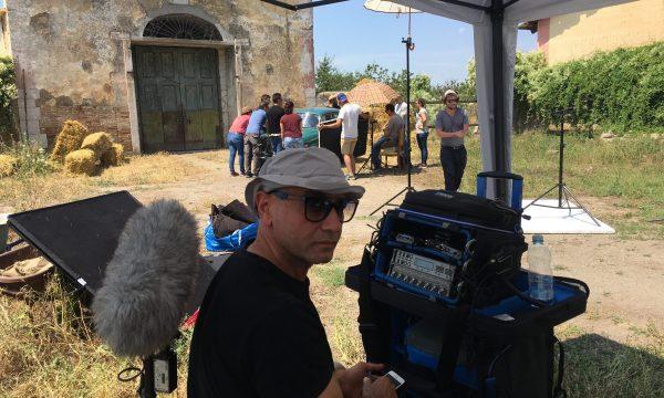 CACCIAGUIDA-CORTOMETRAGGIO -LATERAL FILM-BACKSTAGE-OMNIBUSTUDIO-8
